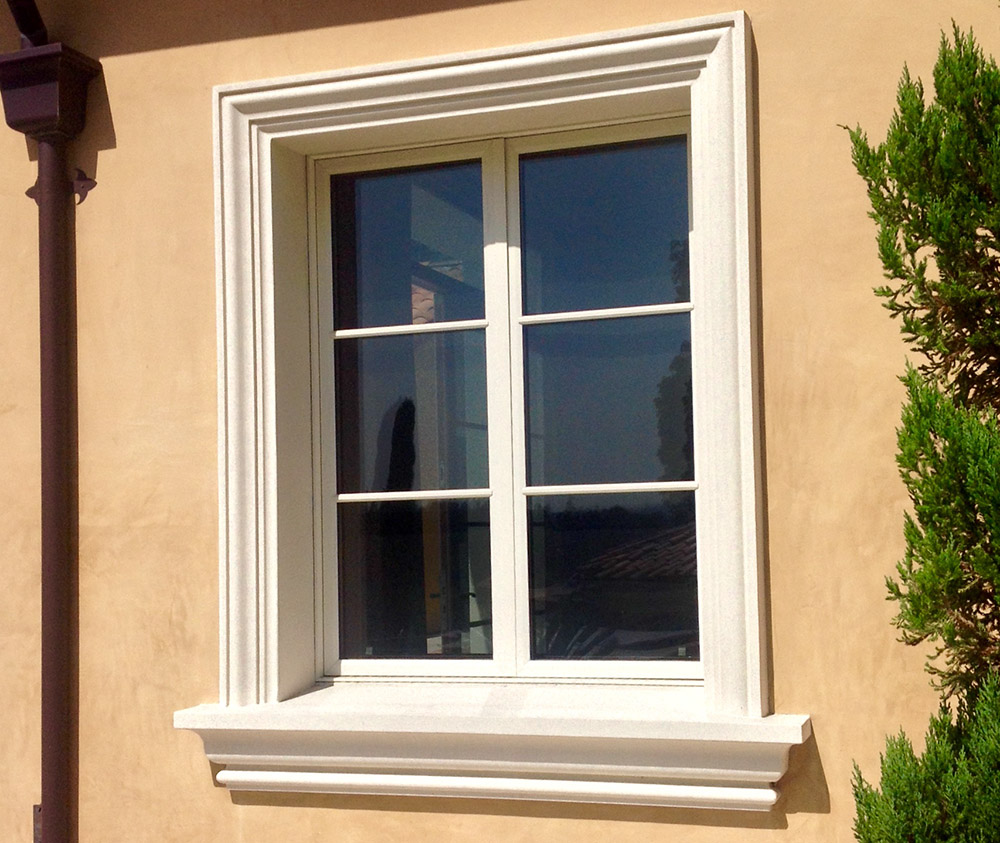 Decorative window molding best upscale visual with for Decorative window trim exterior